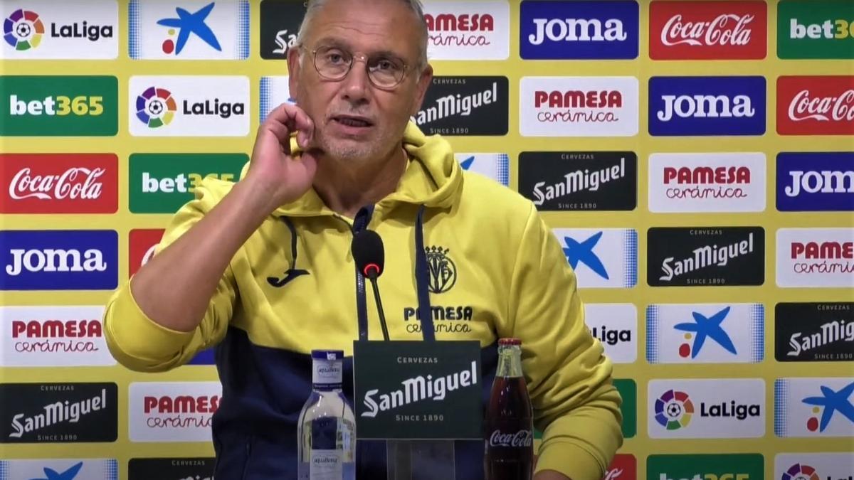 Miguel Álvarez responde a las cuestiones relativas al Hércules-Villarreal del domingo, a las 12 horas.