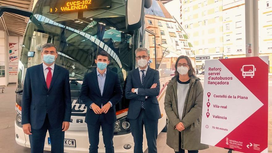 Conoce el nuevo servicio de autobús entre Castelló y València