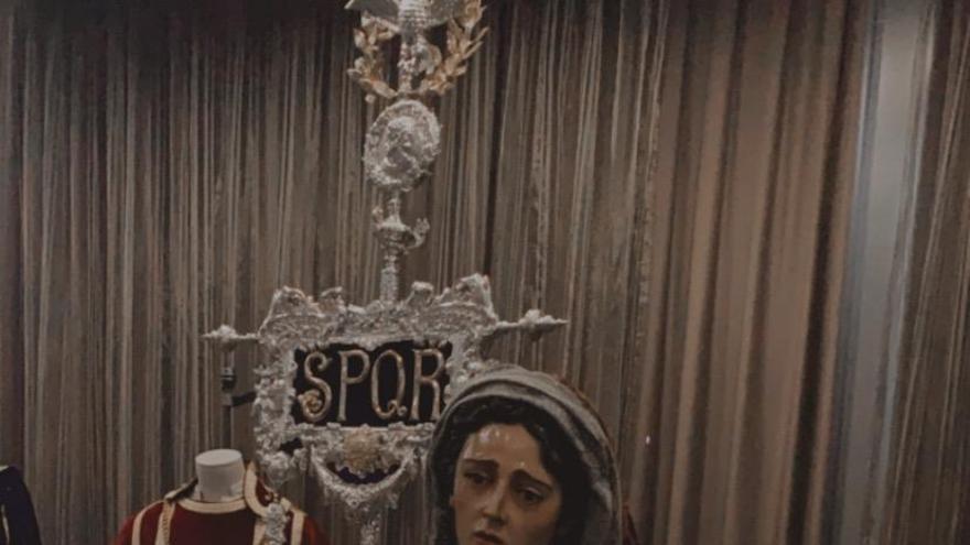 Exposición de la Semana Santa de Málaga en el hotel Málaga Palacio