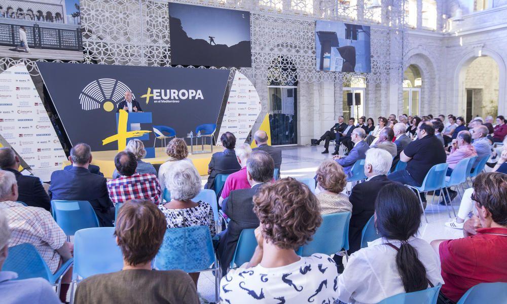 Ponencia de Joaquín Almunia en el Foro +Europa
