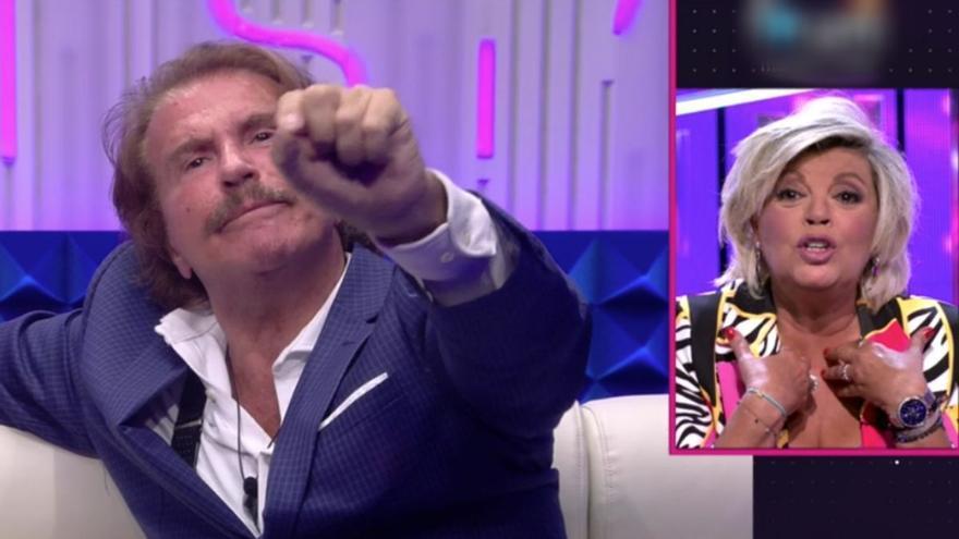 Terelu Campos 'brota' contra Edmundo Arrocet en directo y le lanza una seria advertencia