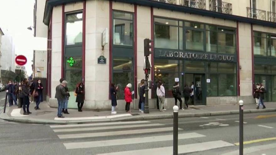 Francia puede estar ya en los 100.000 casos diarios