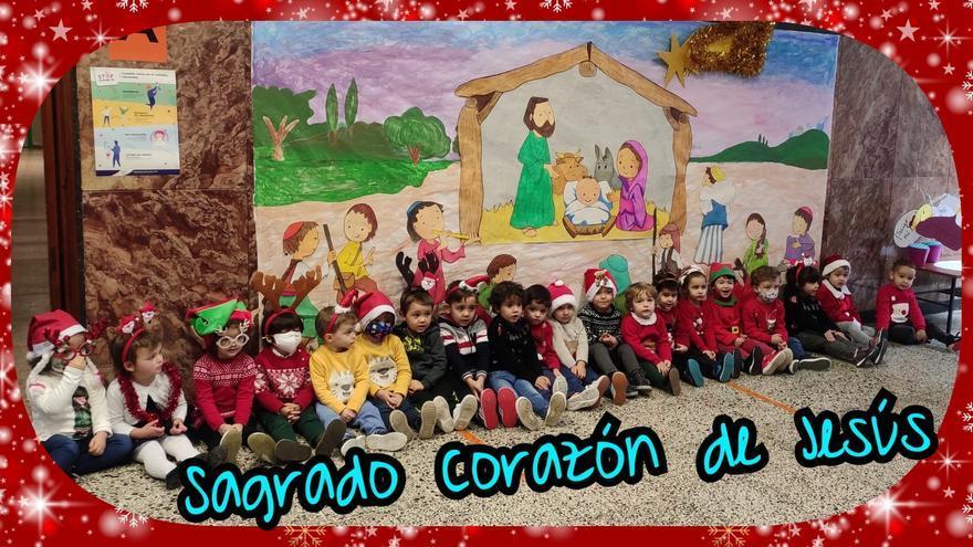 GALERÍA | Los colegios de Zamora celebran la Navidad