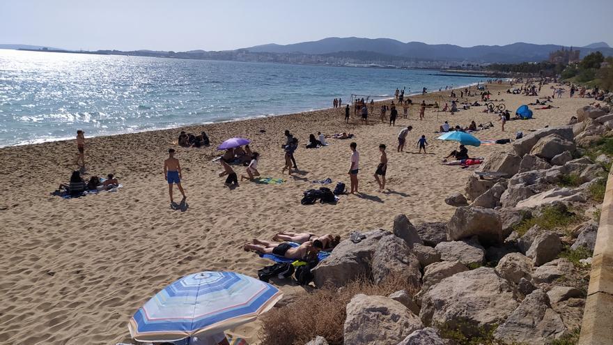 Cómo se usará la mascarilla en las playas de Mallorca