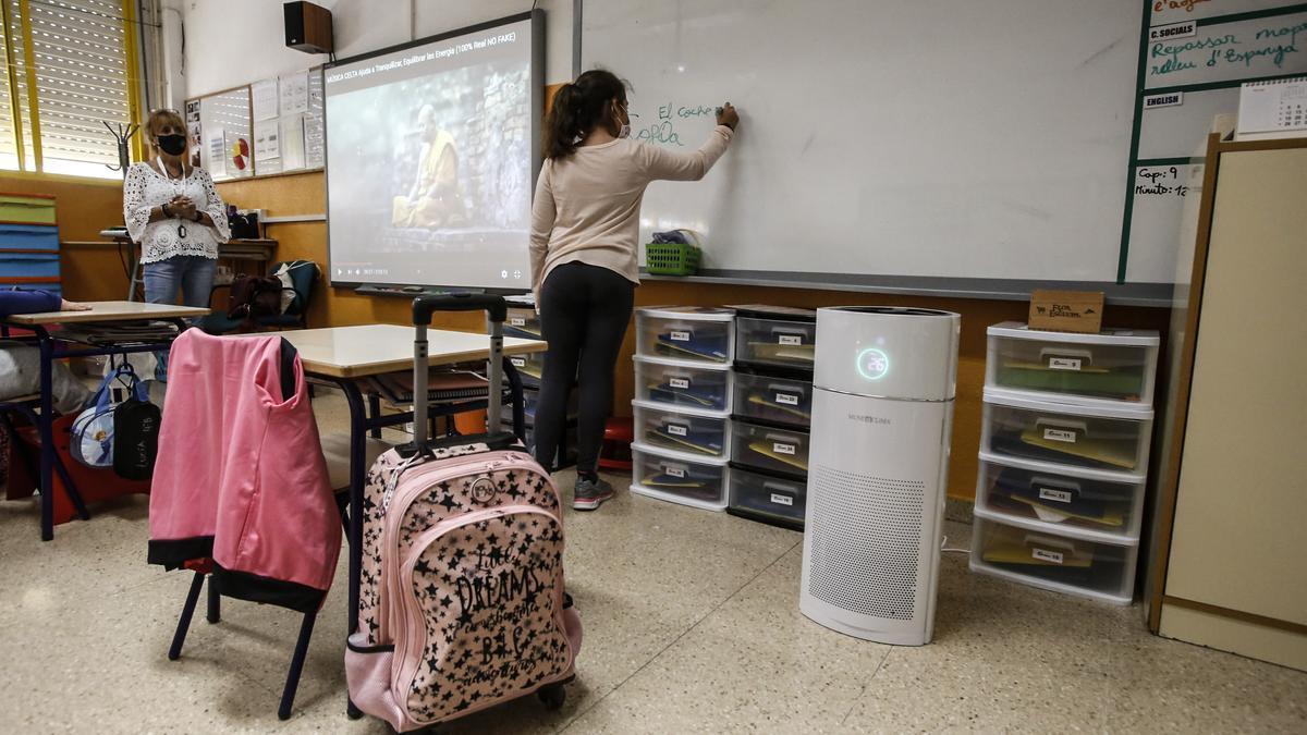 Algunos centros han empezado a probar puirificadores a instancia de los padres