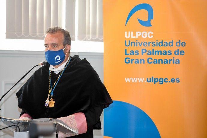 Acto de apertura del curso 2020-2021 en la ULPGC