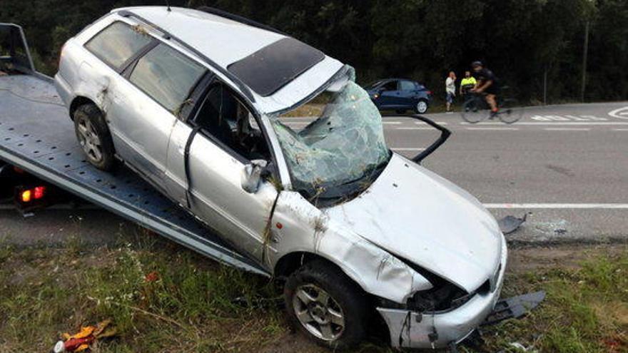 Mor a l'hospital el ferit crític en l'accident de Caldes de Malavella de dimarts