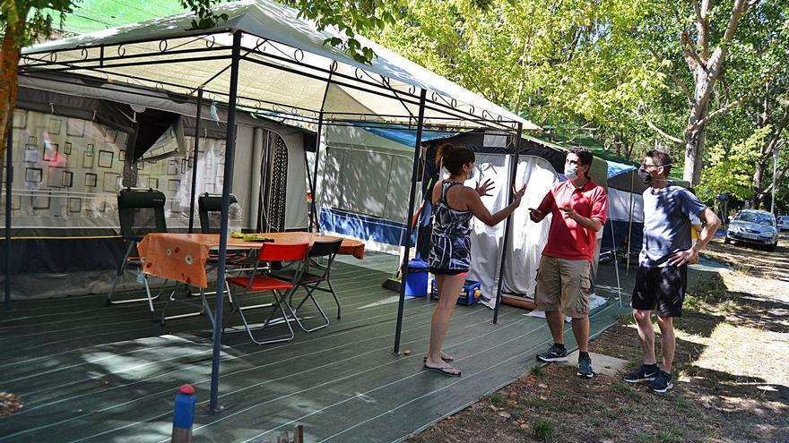 Los camping de Sanabria confían en agosto para remontar la temporada