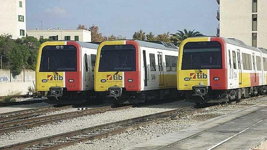 SFM 'jubila' automotores históricos del tren de Mallorca
