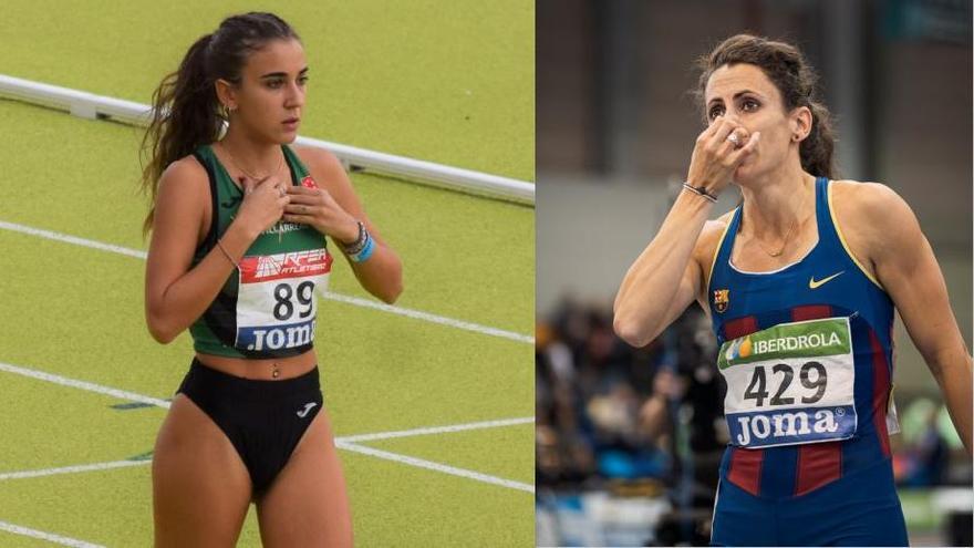 La Federación confirma a Daniela García y Caridad Jerez en la lista del Europeo de atletismo