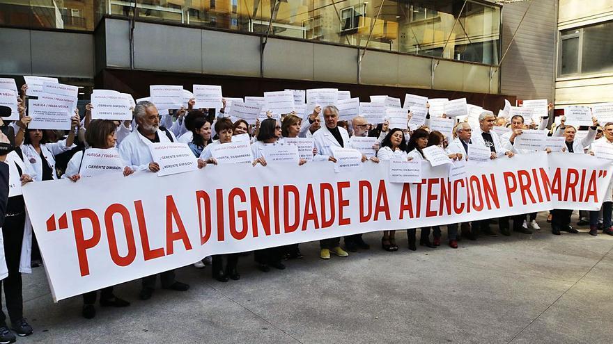 Médicos de Primaria piden a los sindicatos que demanden al Sergas por la sobrecarga