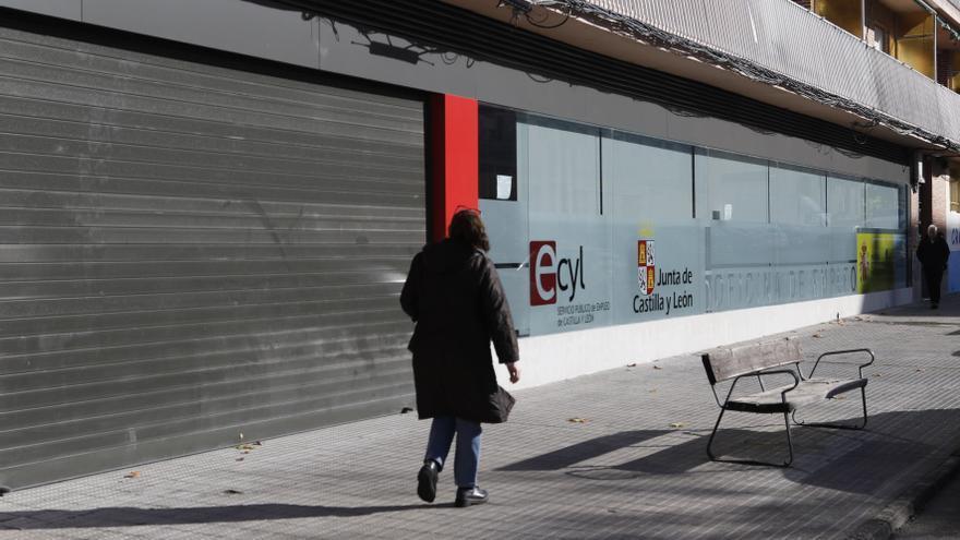La oficina del paro de Zamora atendió a casi 40 personas al día a principios de 2021