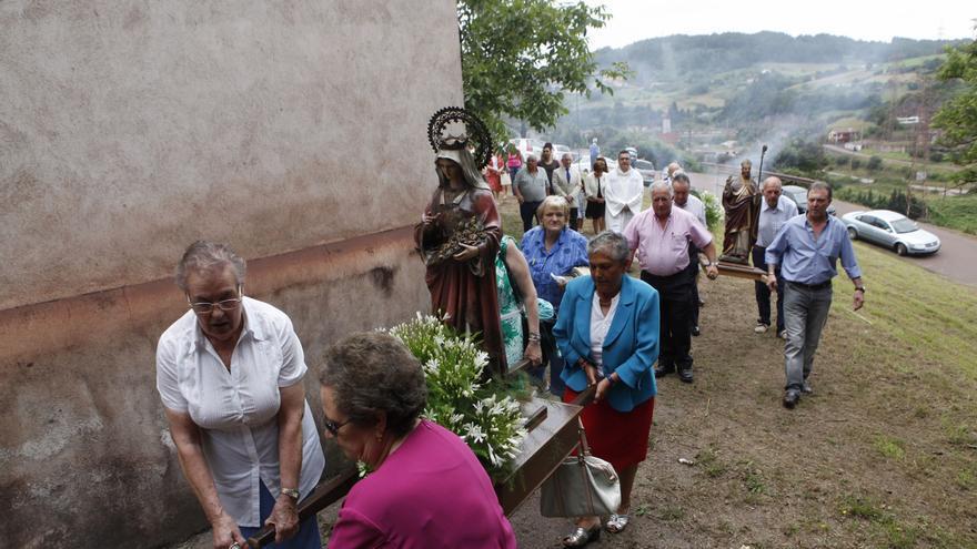 Veriña es la única parroquia que aún baraja hacer fiestas de prao