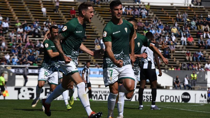 Córdoba CF: Resultado y clasificación en el Grupo 4 de Segunda B