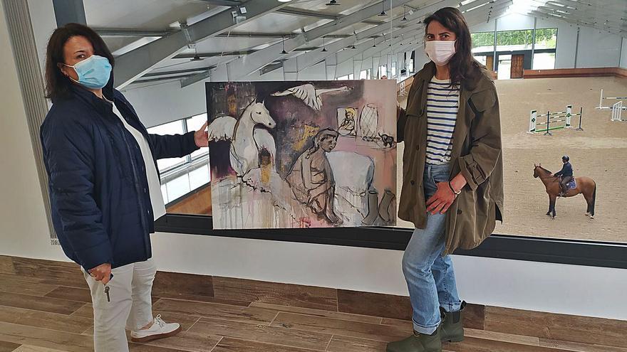 Breza Cecchini: cuando la equitación es un arte