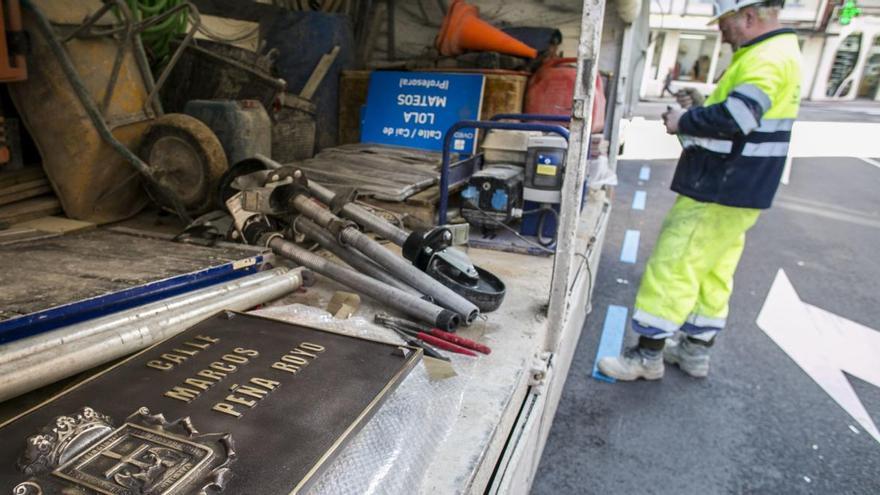 El juez anula el nombre de 17 calles ovetenses modificadas por la Memoria Histórica