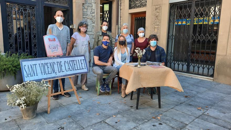 La Fira del Vapor de Sant Vicenç de Castellet posa l'accent en la cultura i el comerç de proximitat