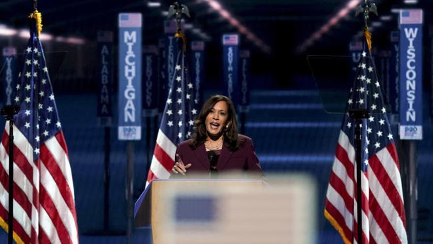 Kamala Harris acepta ser la vicepresidenta de Biden