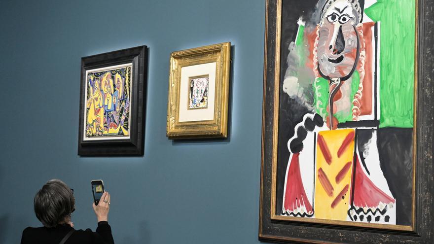 Subastan once obras de Picasso por más de 94 millones de euros en Las Vegas