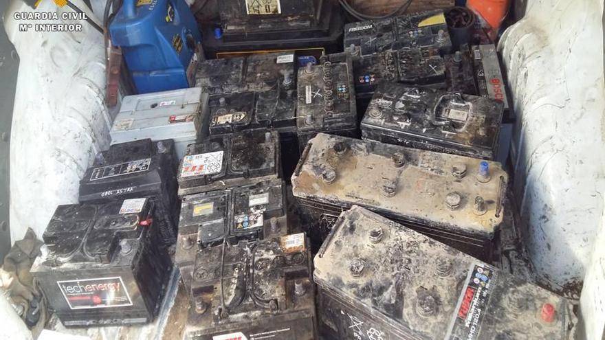 Dos detenidos en Zuera cuando huían de la empresa en la que habían robado