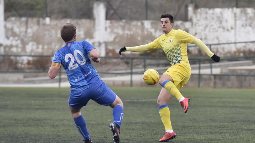 El Calaf planta cara al Joanenc i iguala un duel que acaba sense gols (0-0)