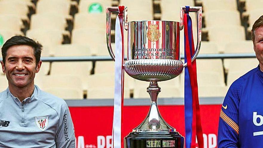 Así pretende Marcelino repetir la hazaña copera contra el Barça