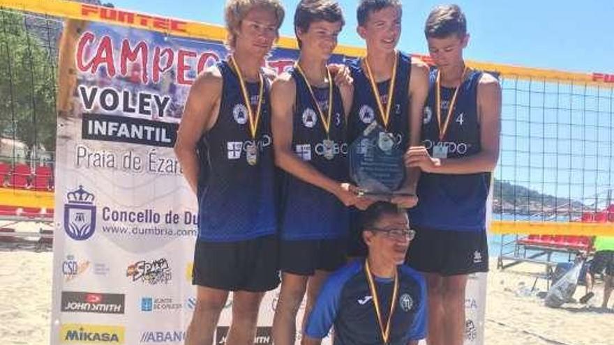 El Club Voleibol Oviedo, nuevo campeón de España cadete