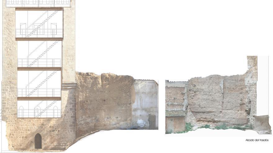 El Ayuntamiento de Teruel invertirá 266.000 euros en el tramo hallado de la muralla