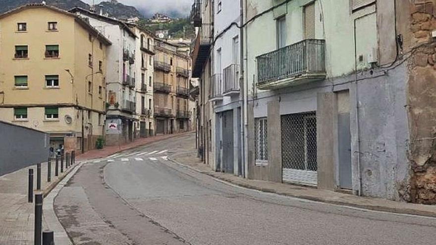Un tram de la ronda Moreta serà de sentit únic per a vehicles