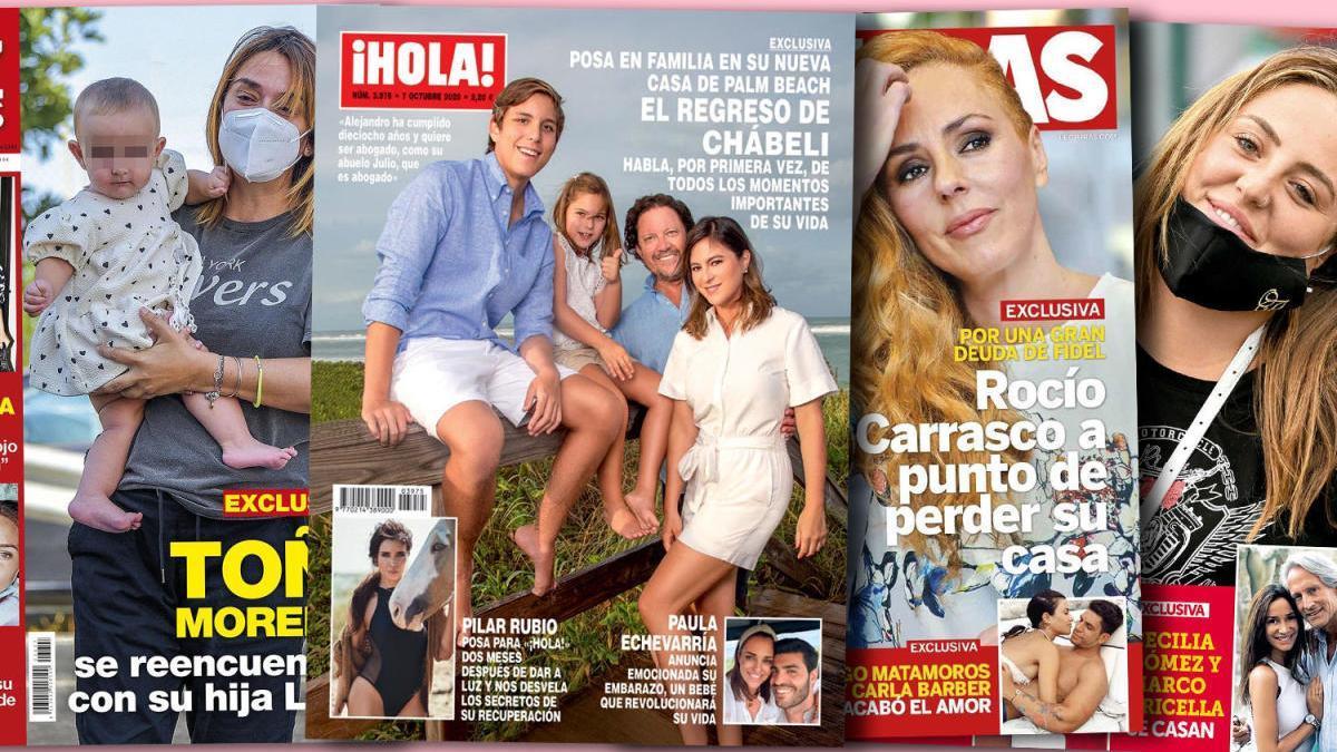 Chábeli reaparece en Palm Beach y cuenta secretos de su familia