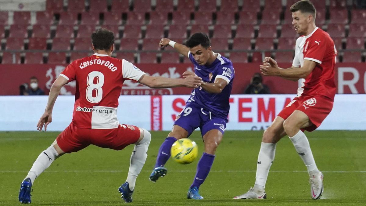 Les imatges del Girona-Sporting