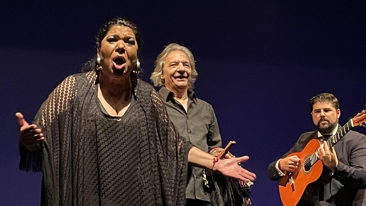 La Macanita, ayer en el Teatre Martín i Soler de Les Arts