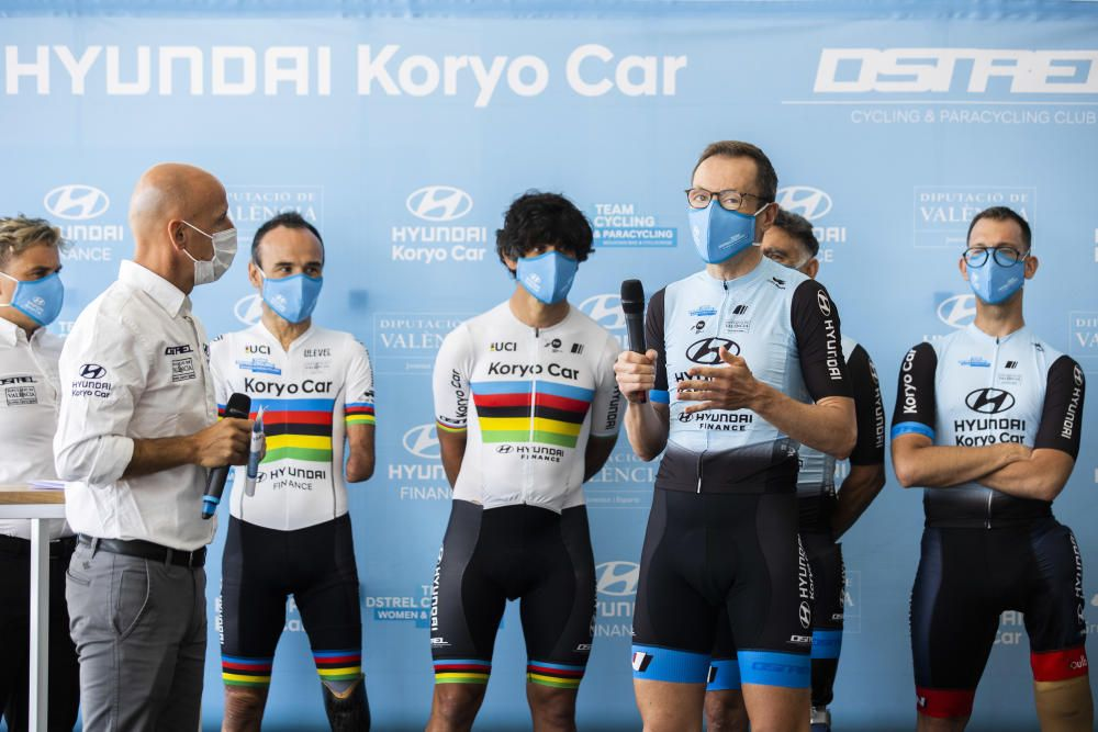 Presentación equipo ciclista Hyundai Koryo Car