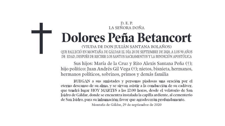 Dolores Peña Betancort