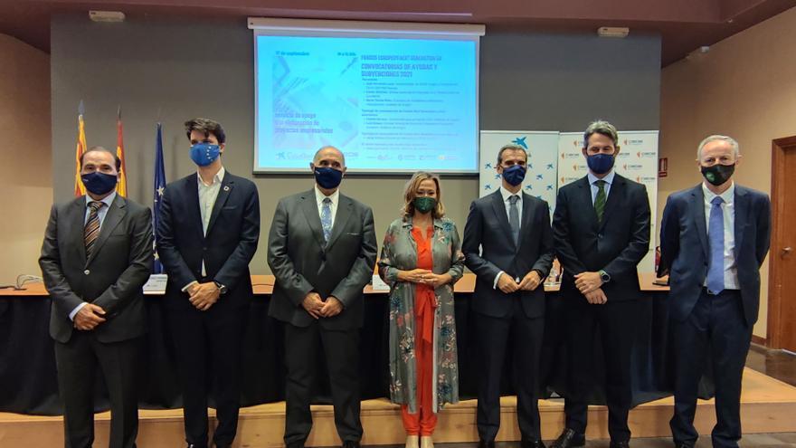 Ascienden a 350 los proyectos aragoneses que optan a fondos europeos