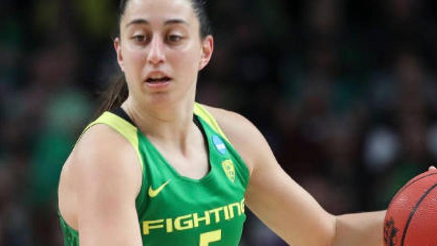 Maite Cazorla, elegida por Atlanta Dream en el draft de la WNBA