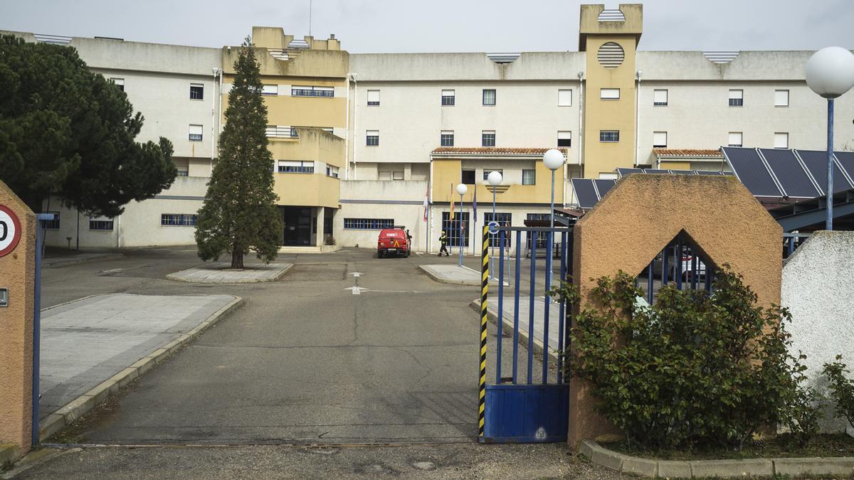 """Residencia """"Los Valles"""" de Benavente."""
