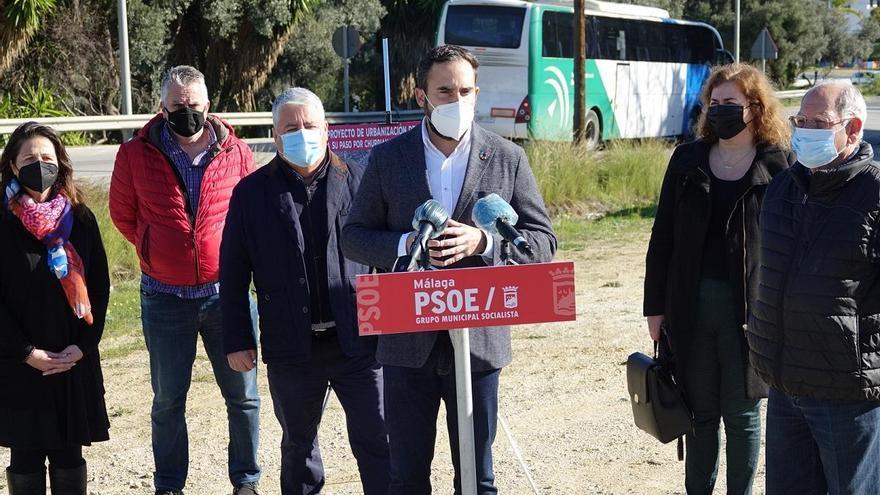 El PSOE urge a la Junta a reurbanizar el Camino de Coín por el peligro de atropellos