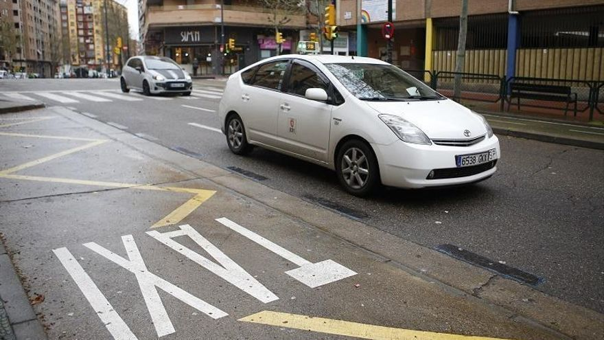 Cambios en la circulación de taxis en Zaragoza