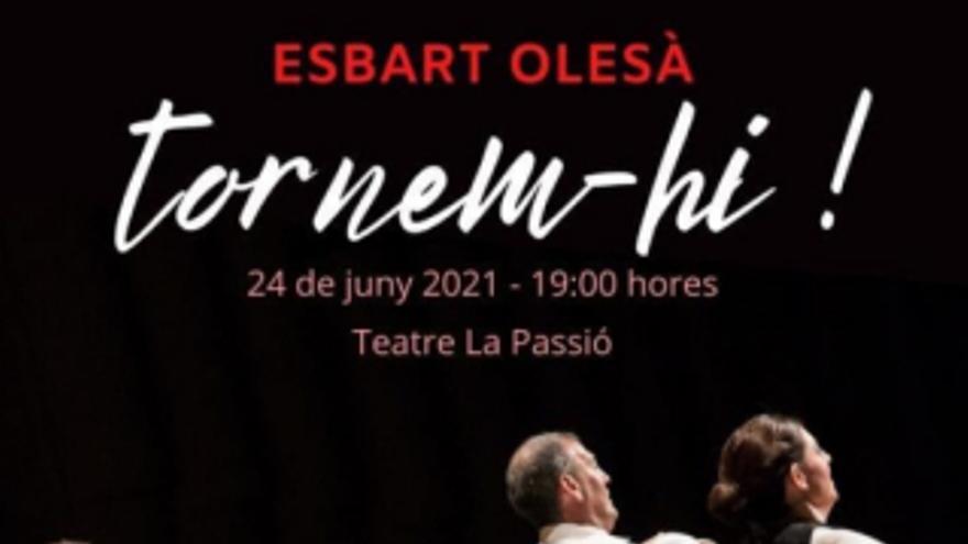 Espectacle de l'Esbart Olesà
