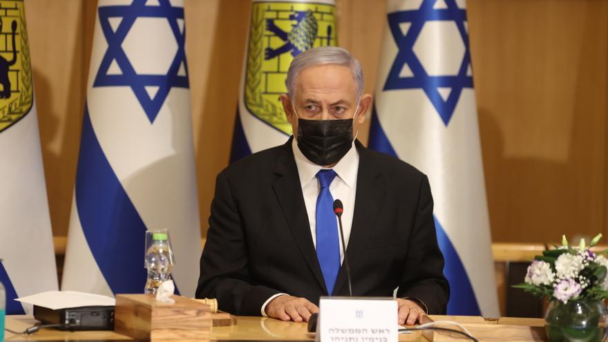 """Netanyahu amenaza con """"derrocar rápidamente"""" al próximo Gobierno israelí"""
