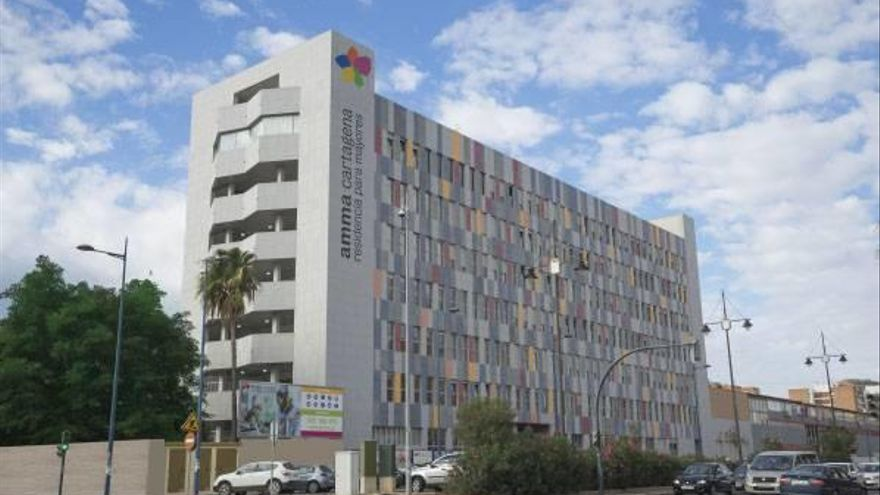 Nuevo brote con 51 positivos en la residencia Amavir de Cartagena