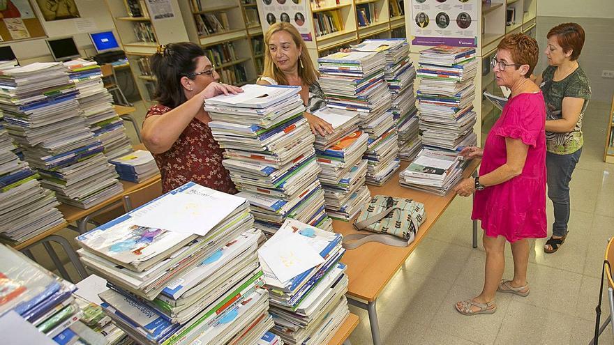 El 88,35% del alumnado de la provincia tiene libros gratis, un 5% más que el curso pasado