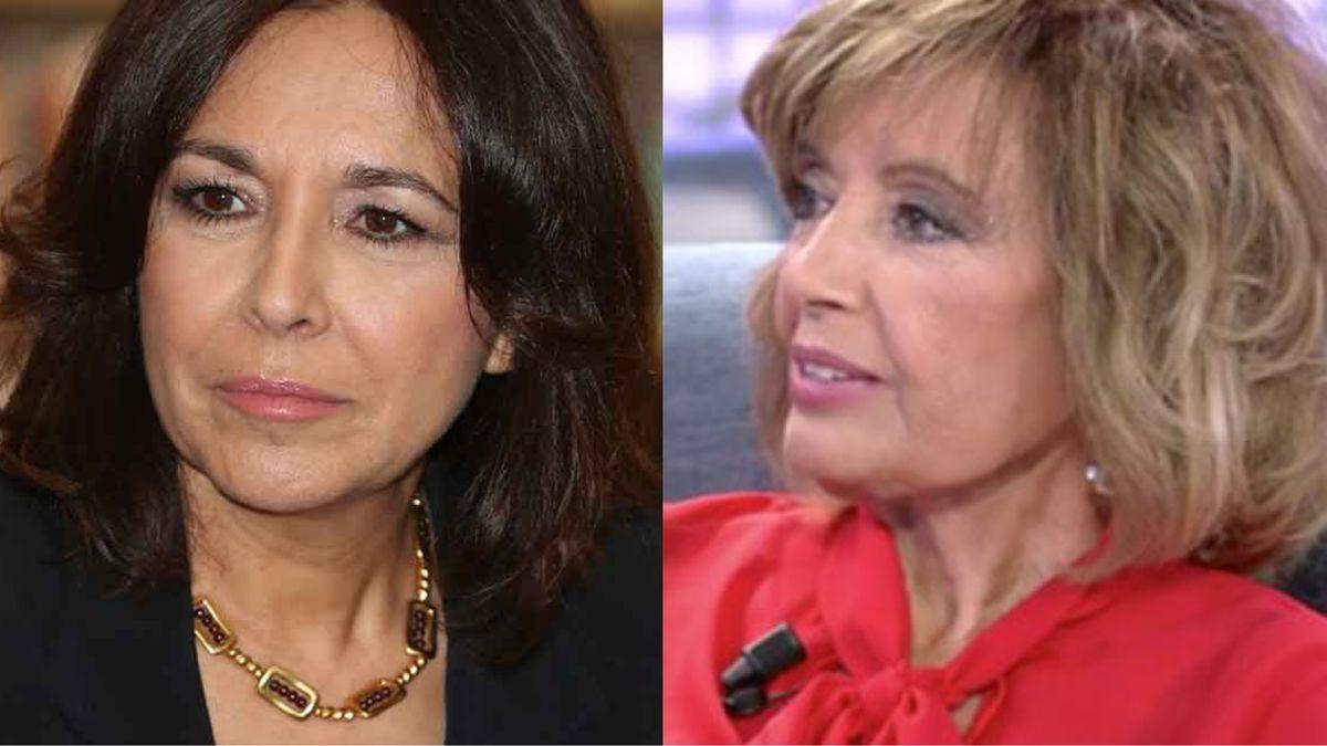 Isabel Gemio y María Teresa Campos.