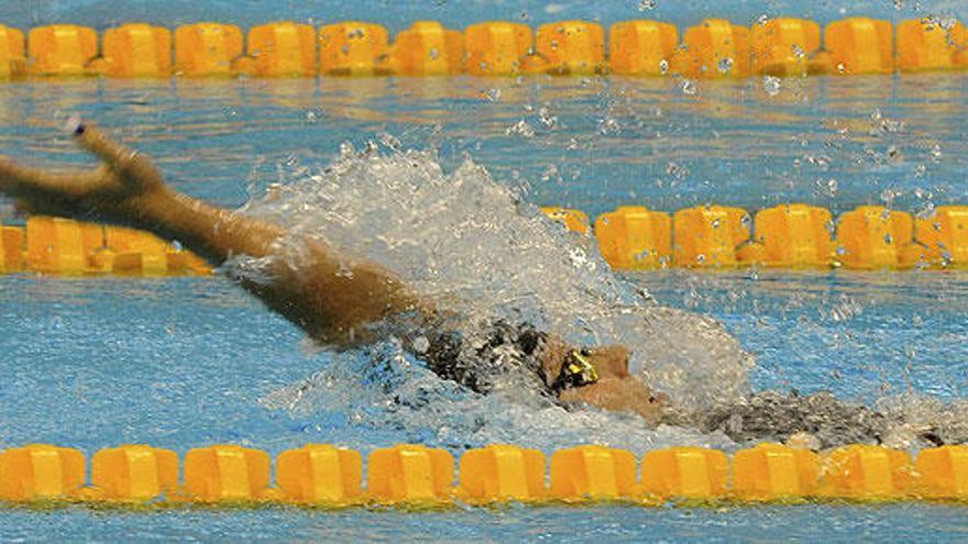 Nuria Marqués, plata en los 100 metros espalda S9