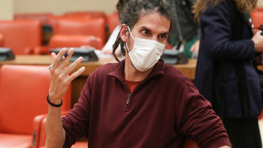 Podemos carga contra la Justicia tras la condena a Alberto Rodríguez