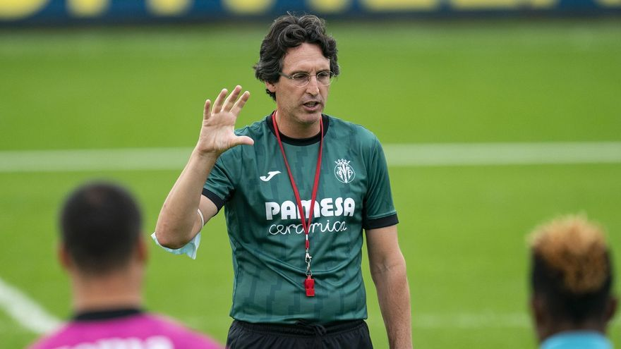 Emery evita la palabra crisis pero reconoce el mal momento del Villarreal