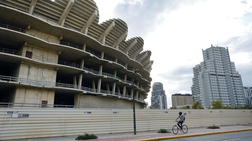 L'Ajuntament de València desaconsella prorrogar l'ATE de Mestalla