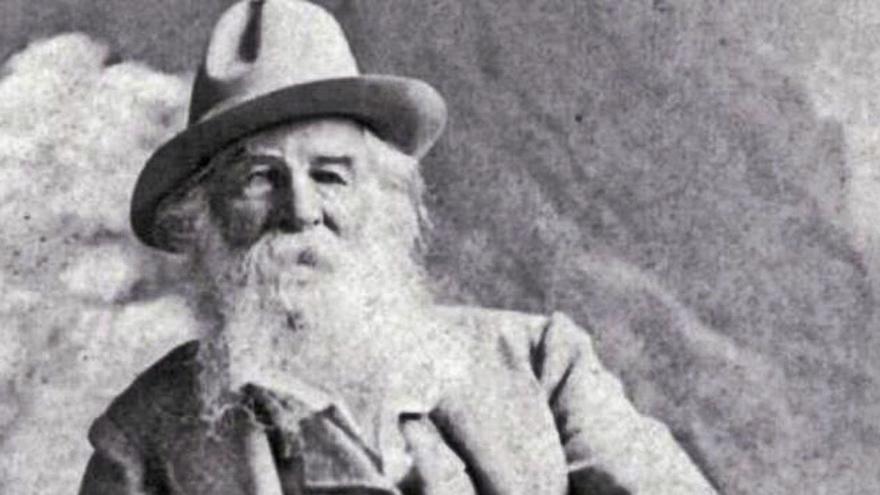 Walt Whitman:  Una hoja al aire libre