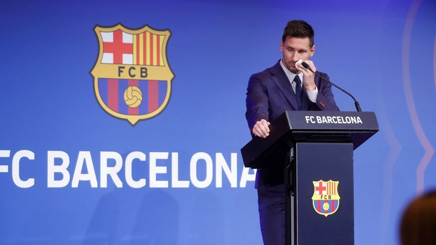 "DIRECTE | Messi s'acomiada: ""Encara estic bloquejat"""